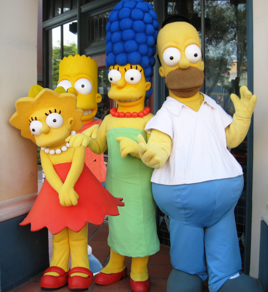 Beckworth_The Simpsons_Family