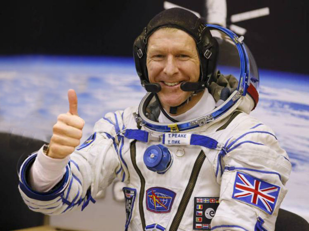Beckworth_Tim Peake Thumbs A Lift