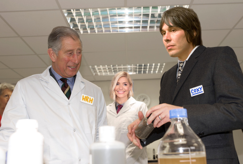 Prince Charles & Brian Cox 2