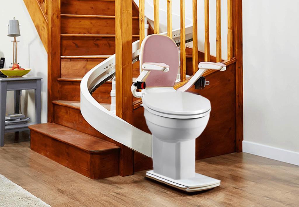 Stutter Potty Stairlift