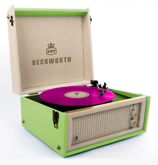 Record Player Coloured Vinyl V2