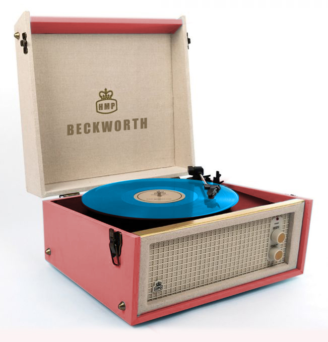 Record Player Coloured Vinyl V3