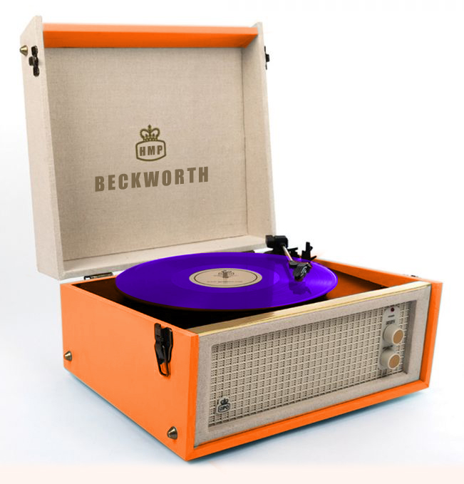 Record Player Coloured Vinyl V7