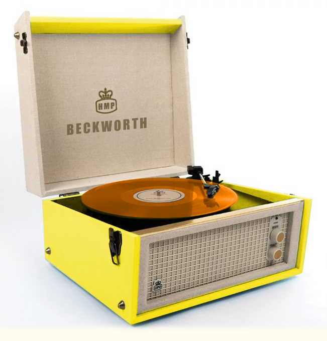 Record Player Coloured Vinyl V8