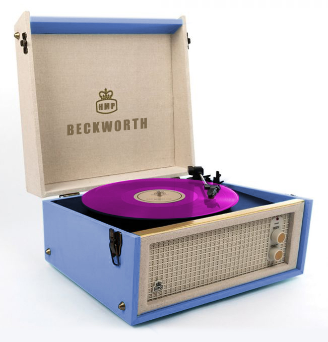 Record Player Coloured Vinyl V9